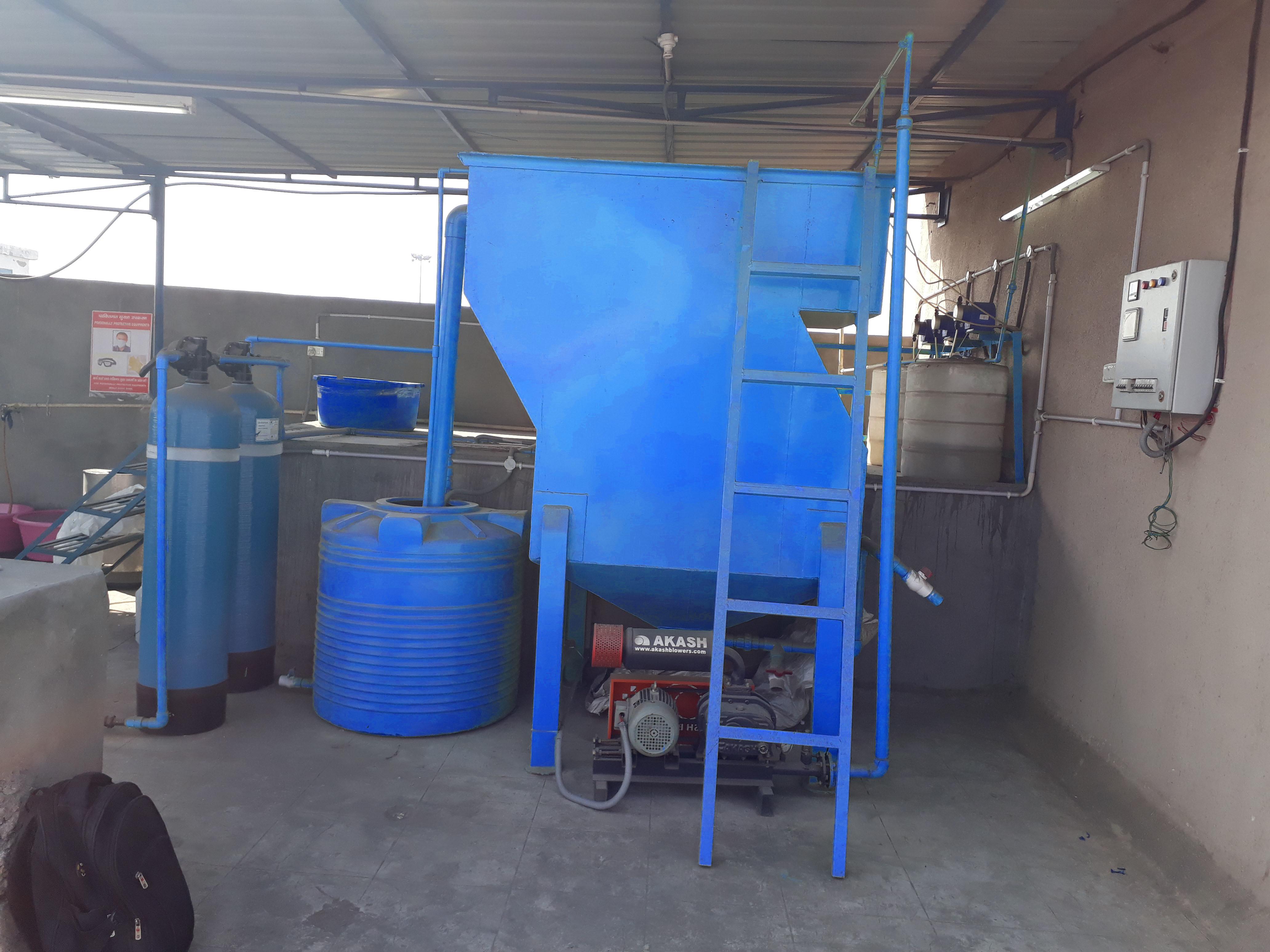 Grey Water Effluent Treatment Plant