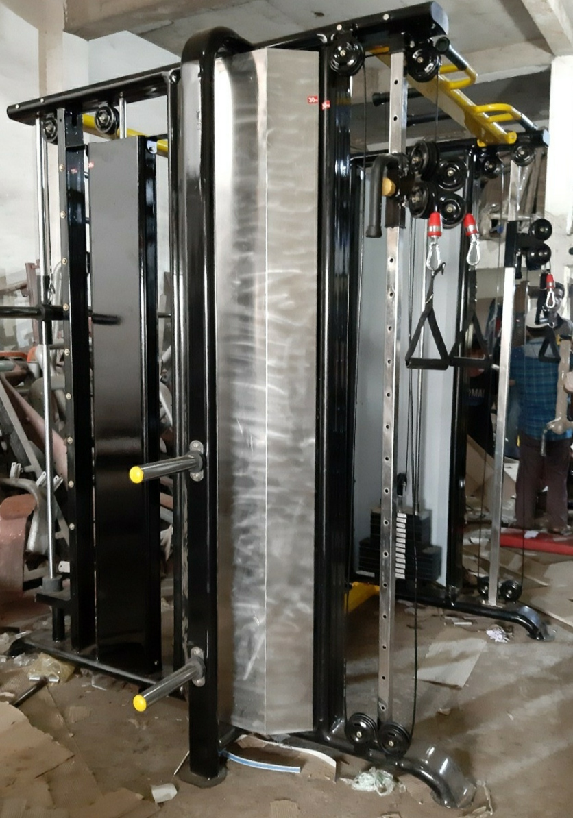 Functional Trainer With Counter Weight Smith Machine