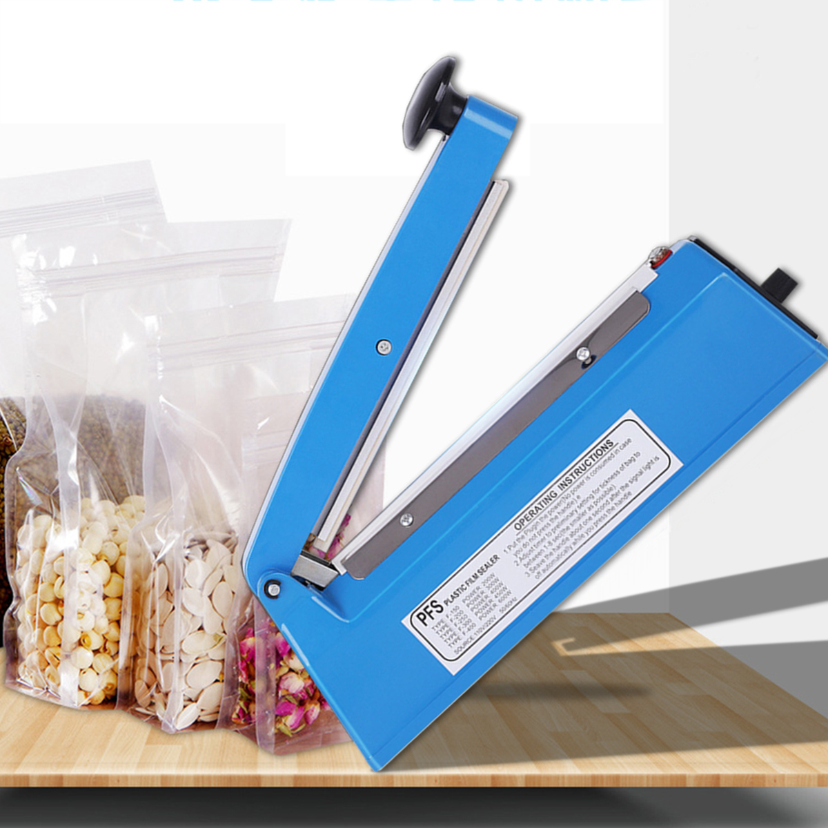 Packaging Poly Bag Sealer Machine