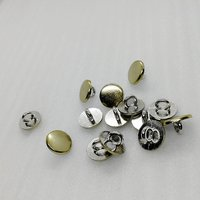 10mm simple flat sewing button HD062-19