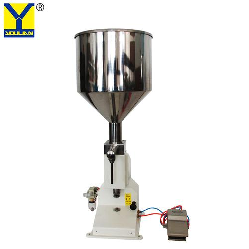 5-50ml Pneumatic Liquid & Paste Shampoo Filling Machine