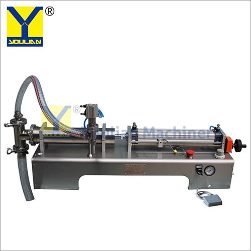 Semi-Automatic Oil Lotion Bottle Filling Machine