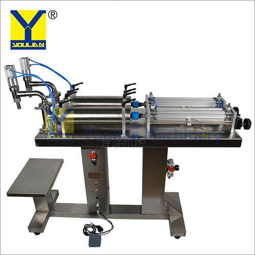 Semi-Automatic Double Liquid Filling Machine