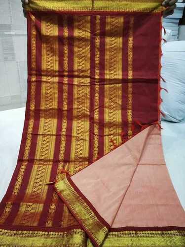 Ladies Casual Cotton Saree