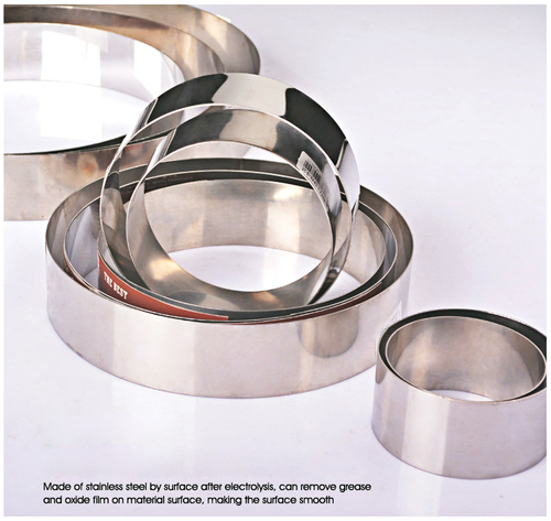 SS Cake Ring Round Thick Gauge