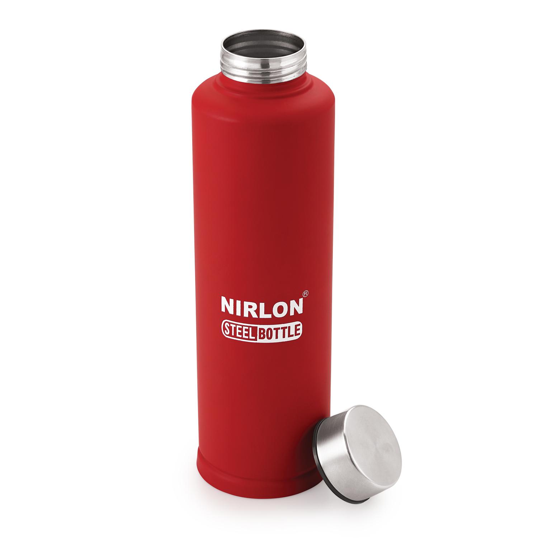 School-1000ml Plain SS Water Bottle