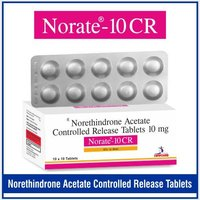 Norethisterone  (CR) 10 mg.