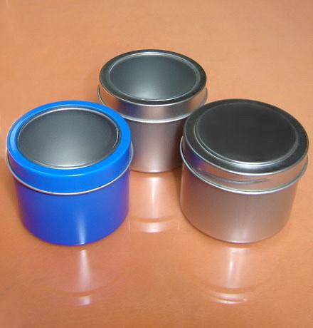 Transparent Tin Containers