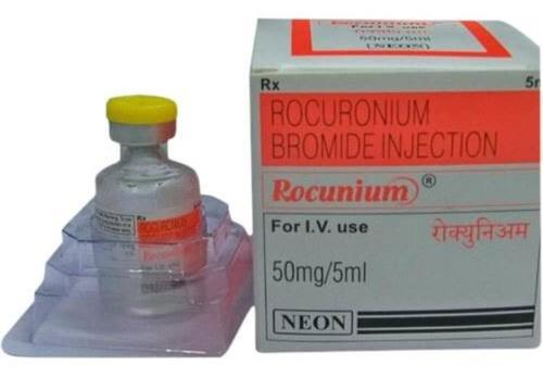 Rocunium 50mg/5ml Injection