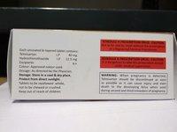 12.5 Mg Telmisartan 40 Mg, Hydrochlorothiazide Tablets