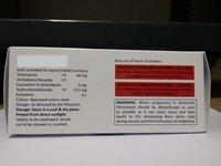 Telmisartan 40Mg Amlodipine Besylate 5 Mg Hydrochlorothazide 12.5 Mg