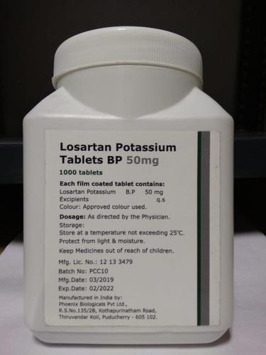50 Mg Losartan Potassium Tablets