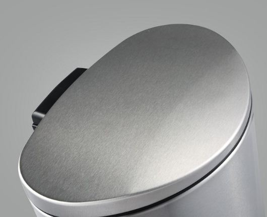 Foot Pedal Dustin Brushed Steel