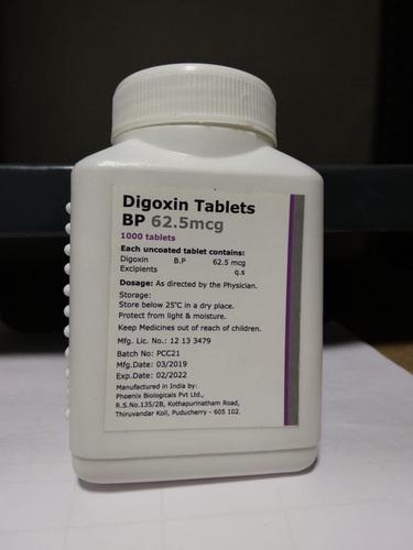 Digoxin Tablets 62.5Mg