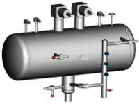 Low Pressure Ammonia Receivers
