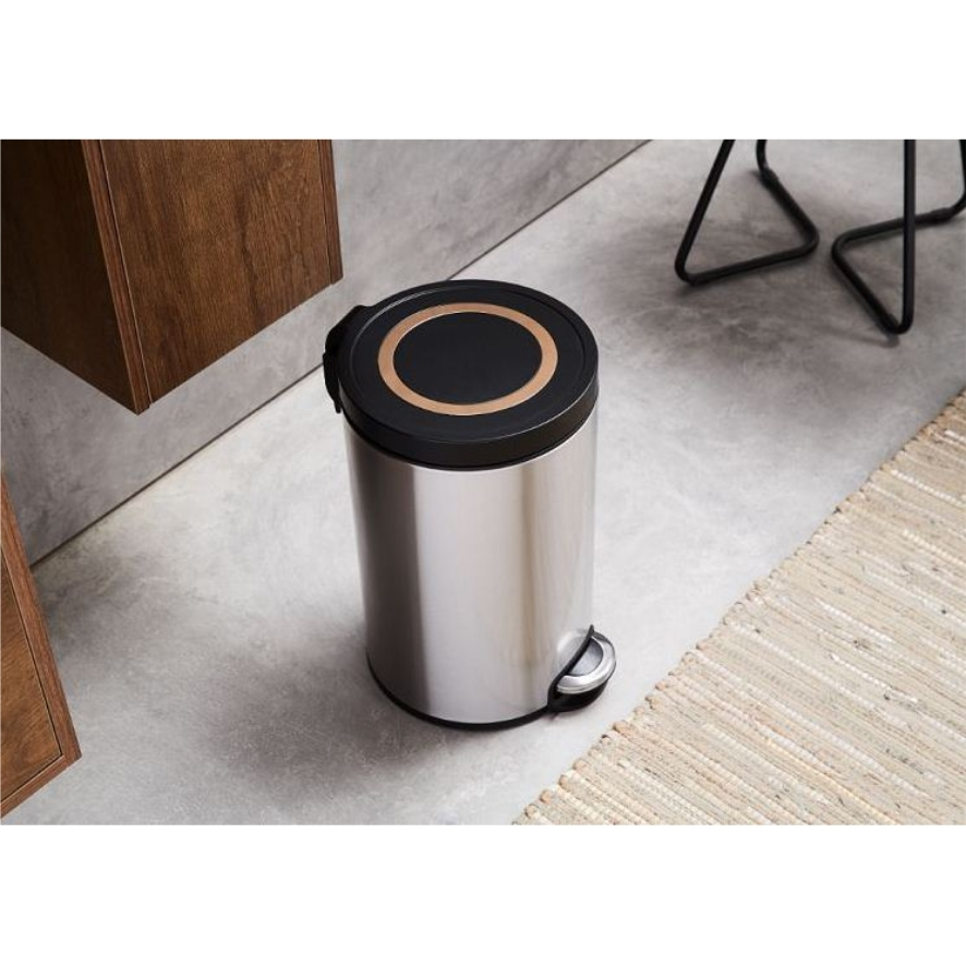 Foot Pedal Stainless Steel Dustbin