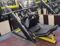 Leg Press With Hack Squat Machine