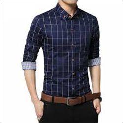 No Fade Mens Check Shirt
