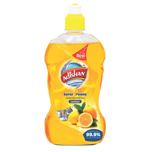 Lemon Highly Concentrated Dish Wash Gel