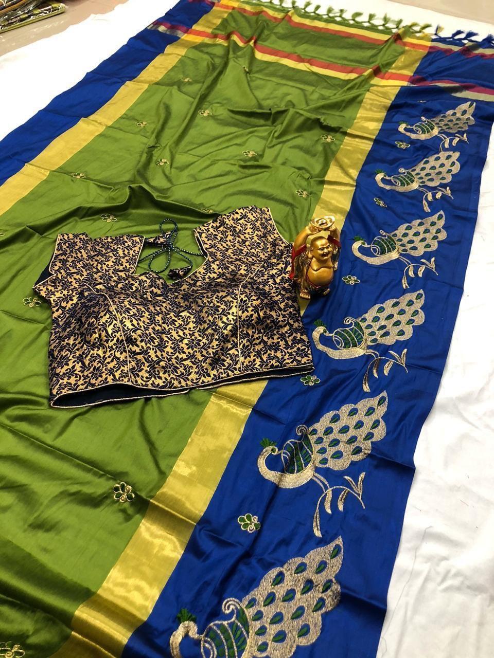 Pure silk cotton Saree