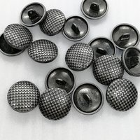 19mm Alloy lattice sewing button  HD059-19
