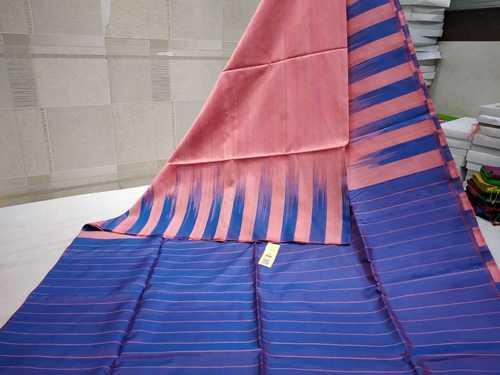Pure Silk Dupion Dye Saree