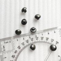 10mm Brass mushroom shape sewing buttonHD061-19