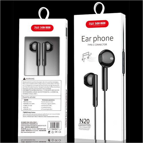 Subwoofer Stereo Type C Connector Earphone