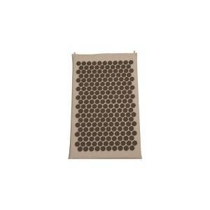 Natural linen Acupressure Mat/Yoga Yantra Foot Shakti Plastic Spikes Massage Acupressure mat