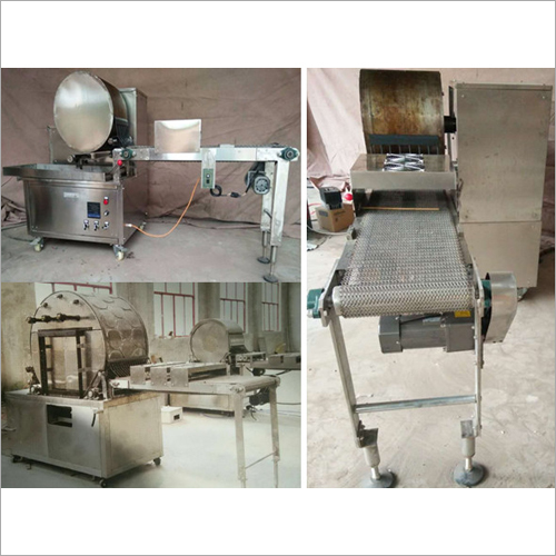 Automatic Crepe Machine