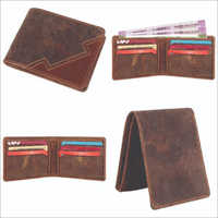 Hunter Brown Leather Wallet