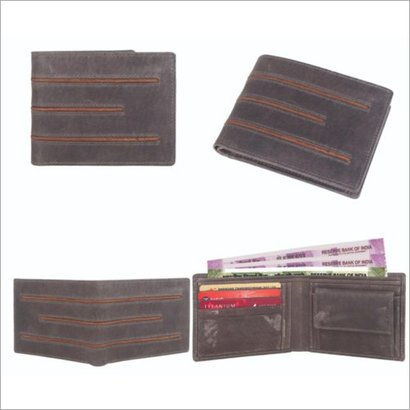 Brown Fabbro Genuine Leather Wallet