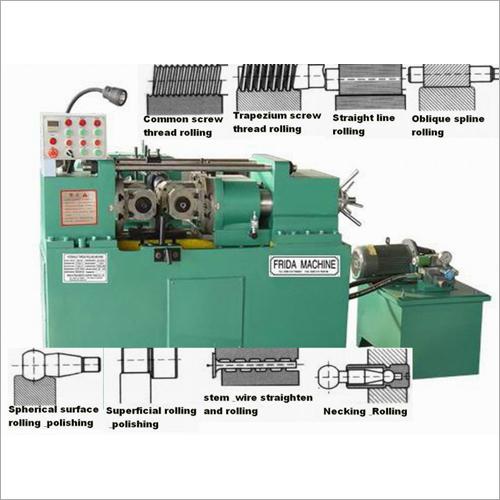 Z28-80 MODEL Thread Rolling Machine