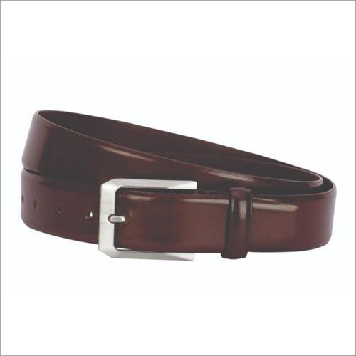 Fabbro Genuine Brown Leather Belt Gender: Male