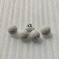 10mm lace covered sewing button for shirt  HD067-19