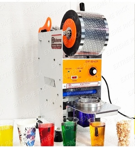 Semi Auto Cup Sealer Machine