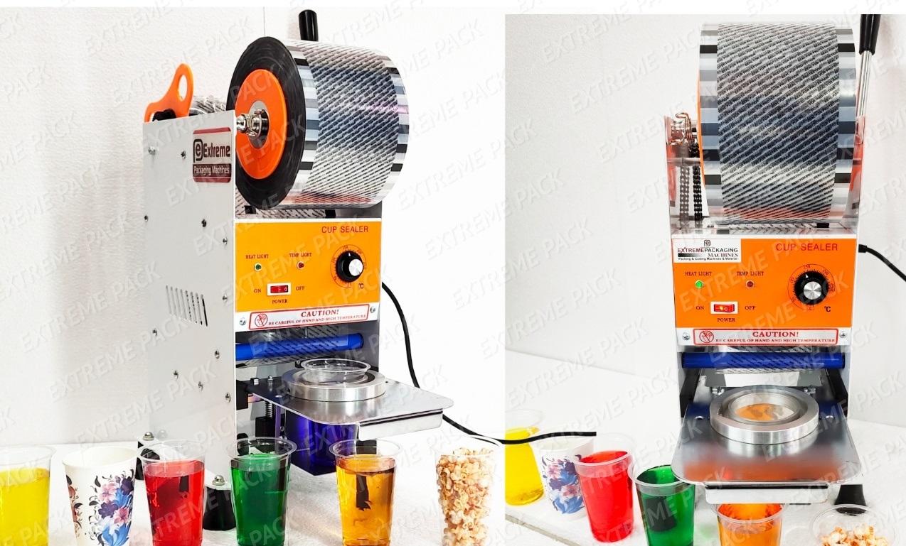 Semi Auto Cup Sealer Machine