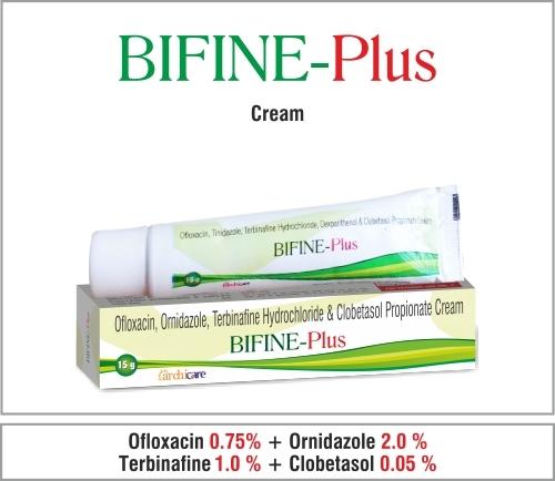 Ciprofloxacin +Metronidazole +Terbinafine +Clobetasol +Methylparaben +Propylparaben