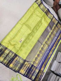 Ladies Kanchipuram Bridal Silk Saree
