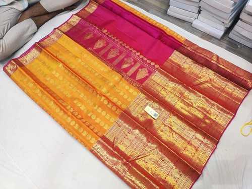 Pure Zari Silk Saree