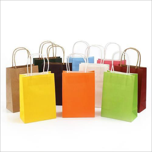 Colorful Paper Carry Bag