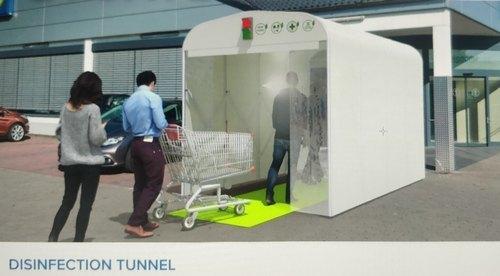 Disinfection Sanitation Tunnel