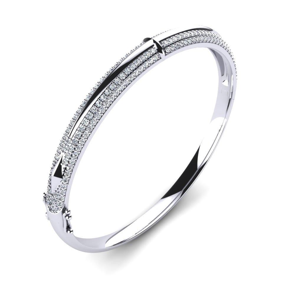 Silver CZ Bangles