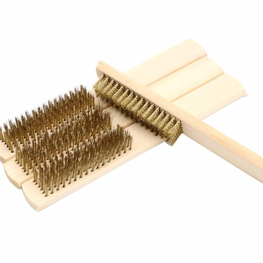 Industrial Wire And Brass Brush