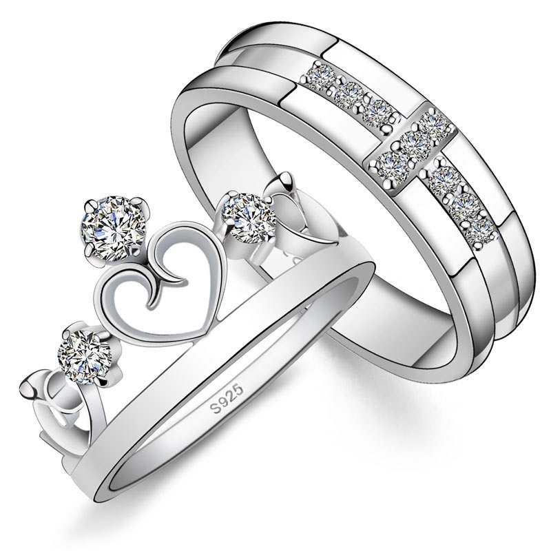 Designer Couple Rings Band