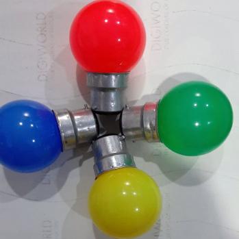 0 Watt Colourful Bulb