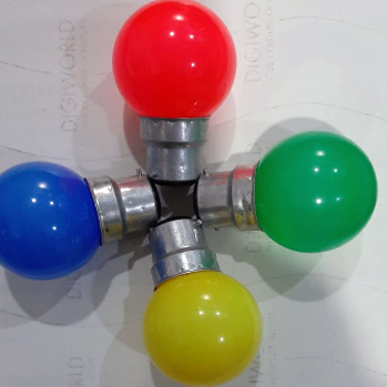 0 Watt Colourful Bulb