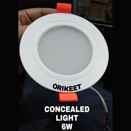6 Watt Concealed Light