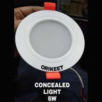 6 Watt Concealed Light