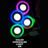 6 Watt Color Concealed Light